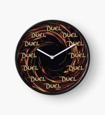 Zeit zum Duellieren Uhr