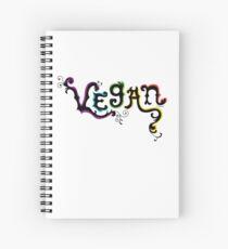Vegan t shirt Spiral Notebook