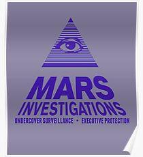 Mars Investigations Poster