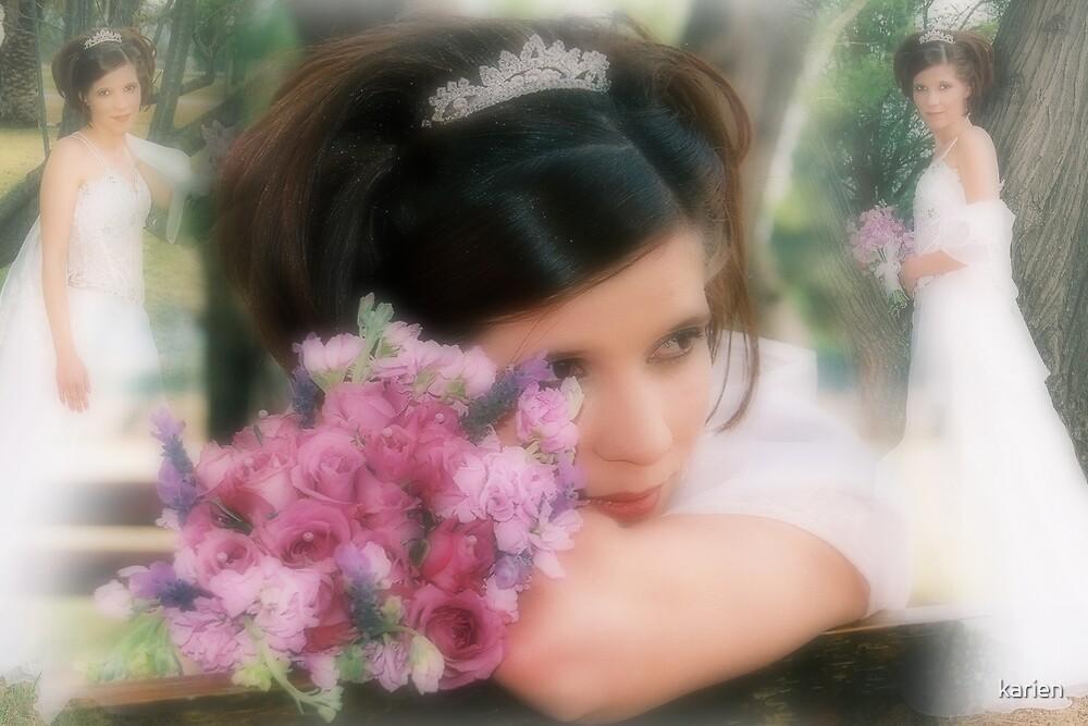 My wedding by karien