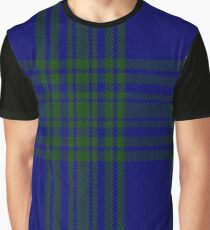 Lochleven (Dance) Tartan  Graphic T-Shirt
