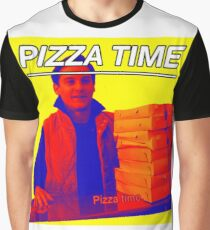 Pizza Time Spiderman 2 Meme  Graphic T-Shirt