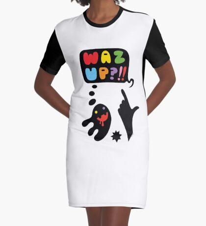 waz up holmes?  Graphic T-Shirt Dress