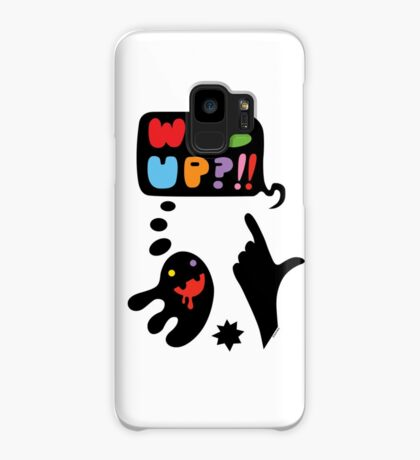 waz up holmes?  Case/Skin for Samsung Galaxy