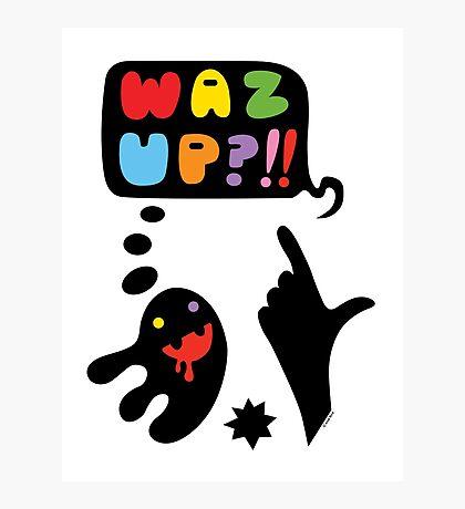 waz up holmes?  Photographic Print