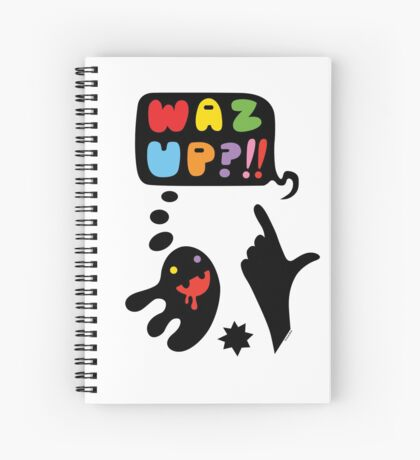 waz up holmes?  Spiral Notebook