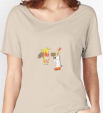 cartoon mash-up  Women's Relaxed Fit T-Shirt