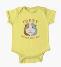 Crazy Guinea Pig lady (New face) One Piece - Short Sleeve