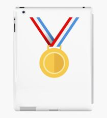 Winner, Medal, First place iPad Case/Skin