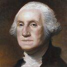 George Washington Oil Painting by Neil Godding