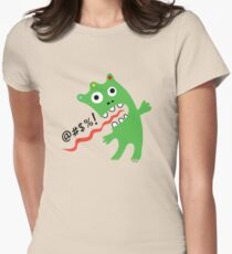 Critter Expletive maize Women's Fitted T-Shirt