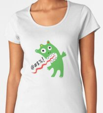 Critter Expletive maize Women's Premium T-Shirt