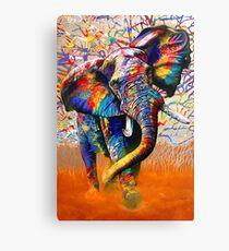 Afrikanische Farben Leinwanddruck