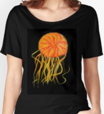 Orange Jellyfish Women's Relaxed Fit T-Shirt