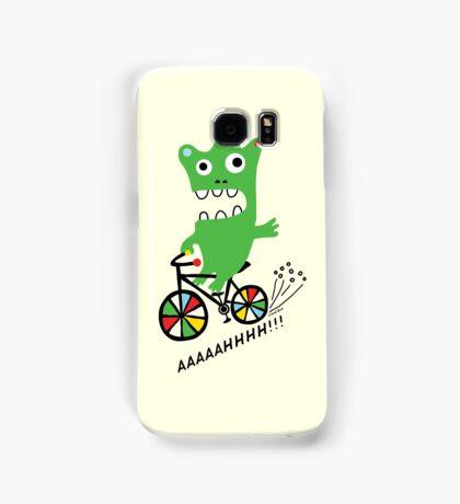 Critter Bike maize Samsung Galaxy Case/Skin