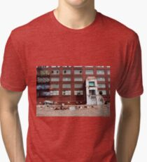 abandoned candy factory 3 Tri-blend T-Shirt