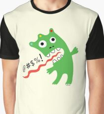 Critter Expletive maize Graphic T-Shirt