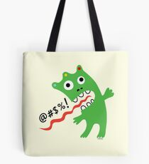 Critter Expletive maize Tote Bag