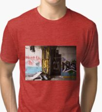 abandoned candy factory 4 Tri-blend T-Shirt
