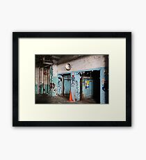 abandoned candy factory 5 Framed Print