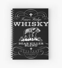 Bear Killer Whisky Spiral Notebook