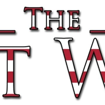 The West Wing Logo with American Flag Design by Amandakt