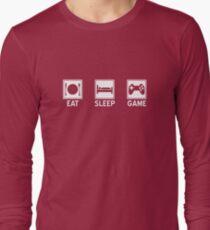 Eat, Sleep, Game Long Sleeve T-Shirt