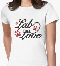 Lab Love Womens Fitted T-Shirt