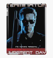 Terminator 2, Arnold Schwarzenegger, James Cameron, Sarah Connor, John Connor iPad Case/Skin