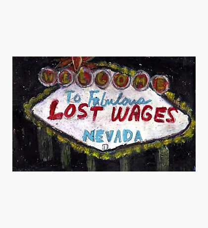 Lost Wages,Nevada Photographic Print