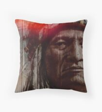 Respect The River Throw Pillow
