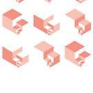 fibonacci red by Neil Godding