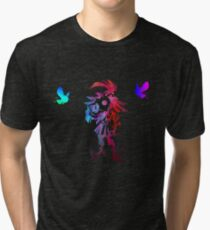 Skull kid colours Tri-blend T-Shirt