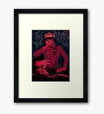 The Play's the Thing Framed Print