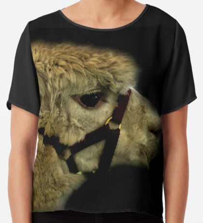 Profil - Alpaka Chiffontop für Frauen