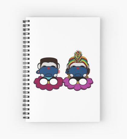 STPC: Naka Do & Oyo Yo (Sipping Tea) Spiral Notebook