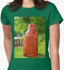 Lewis Chessman - Queen Womens Fitted T-Shirt