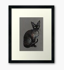 Aleister Von Teese Framed Print