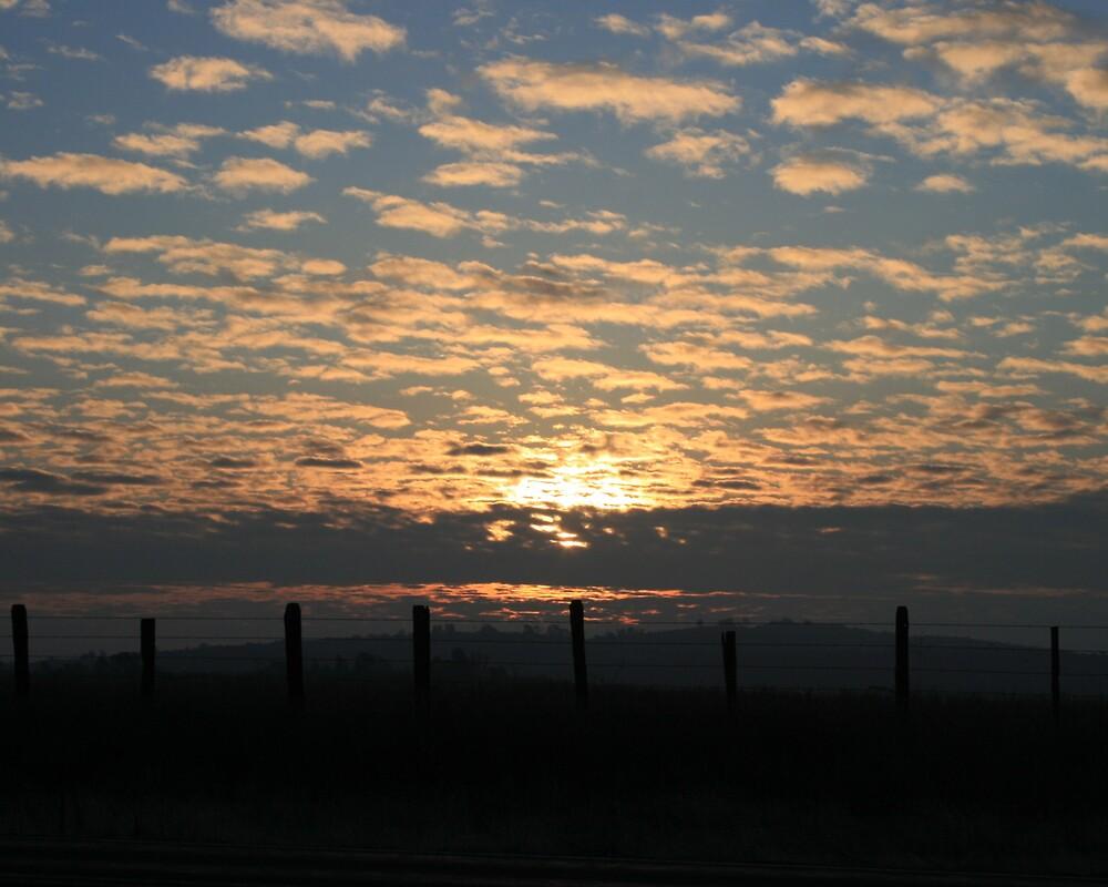 A Rippling Sunrise by Ashley Thomas