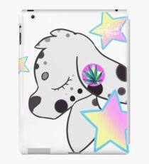 Mary Dalmation weed star pastel iPad Case/Skin