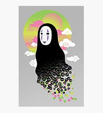 No Face and Soot Sprites Photographic Print