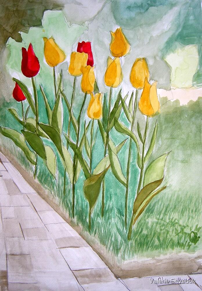 Colors of spring by Valerie Shvedok