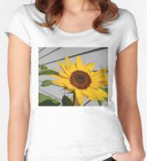 Sunflower Garage Women's Fitted Scoop T-Shirt