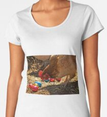 What Came First  Women's Premium T-Shirt
