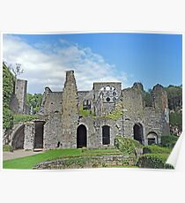 Ruins of the Abbeye de Villers Poster