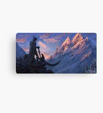 Skyrim - History Canvas Print