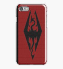 Skyrim - Imperial Banner iPhone Case/Skin