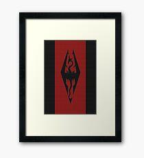 Skyrim - Imperial Banner Framed Print