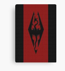 Skyrim - Imperial Banner Canvas Print