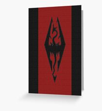 Skyrim - Imperial Banner Greeting Card